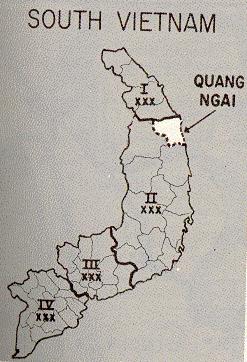 Quang Ngai Vietnam Map.My Lai Selected Maps