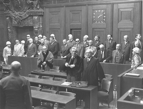 The Nuremberg Trials Chronology 2009